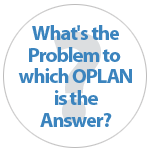 What's the Problem to which OPLAN is the Answer?